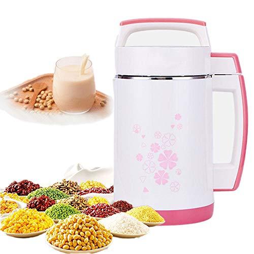 DAETNG 2L Multifunktions-Sojamilchmaschine Reispastenmaschine, Edelstahlfilterfreie automatische Heizung Sojamilchpresse, Intelligentes Bedienfeld, 800W