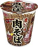 タテロング 厚切太麺 濃いつゆラー油肉そば 93g ×12食