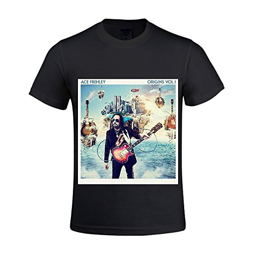 Origins Vol. 1 Ace Frehley Herren Crew Neck Slim Fit T Shirt XX-Large