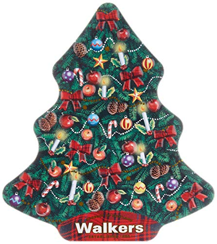 Walkers Christmas Tree Tin, 1er Pack (1 x 225 g)