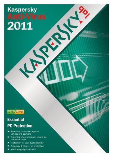 Kaspersky Anti Virus 2011, 1 PC, 1 Year Subscription (PC) [import anglais]