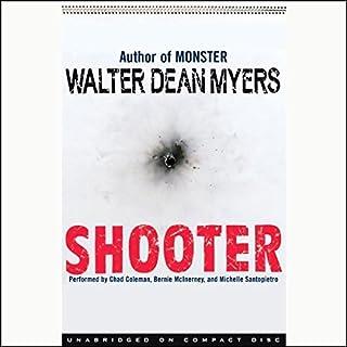 Shooter audiobook cover art