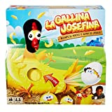 Mattel Games La Gallina Josefina, juego de mesa infantil (Mattel FRL14) , color/modelo surtido