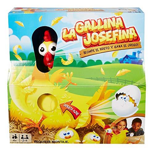 Juegos Mattel La Gallina Josefina, juego de mesa infantil (FRL14)