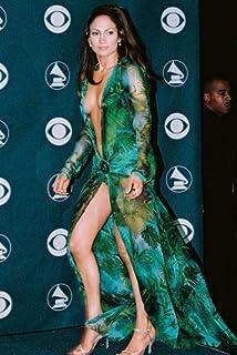 Jennifer Lopez Sexy Color Poster Busty Dress