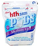 HTH 67053 Alkalinity Up Pods Balancer for Swimming Pools, 8 ct