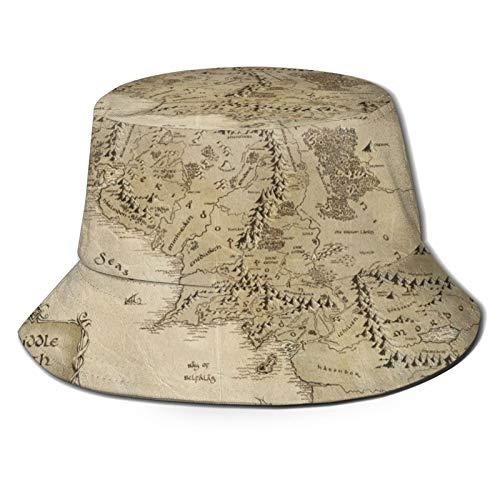 Cappello da sole a secchiello per pescatore con scritta 'Happy Easter Unzen Signore of The Ring