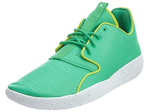 jordan Jordan Nike Kids Eclipse GG Gamma Green/White/Cyber/White Running Shoe 7 Kids US