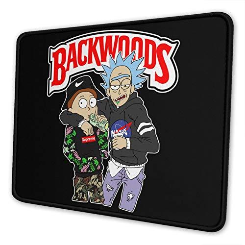Backwoods Mouse Pad Stitched Edge Non-Slip Ergonomic Small Mat Art Computer Laptop Rubber Mousepad