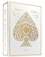 Theory 11 Artisian White Koleksiyoner Beyaz iskambil Oyun Kağıdı Kartları