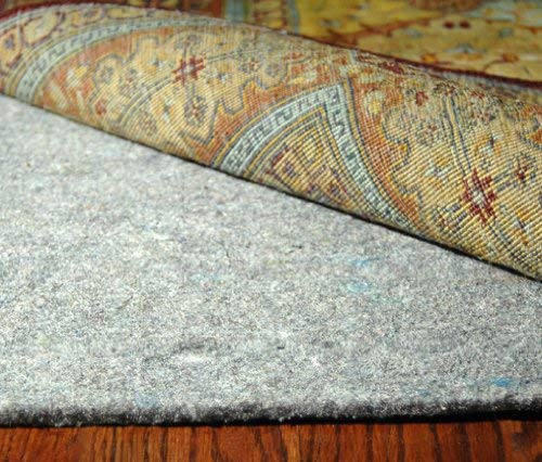 Safavieh PAD130 Durable Hard Surface and Carpet Non-Slip Rug Pad, 5-Feet by 8-Feet