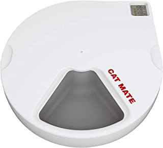 Cat Mate C500 Automatic Pet Feeder with Digital Timer for Cats and Small Dogs