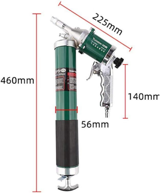 Schweres Hochdruckfett-handwerkzeug Mit Metallverl/ängerung Und Flexschlauch 10000 Psi 600ccm Pneumatischer Fahrzeugfetter,Normal Version MKIU Pistolengriff-luftfettpistole