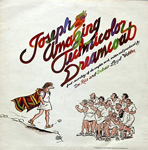 Joseph And The Amazing Technicolor Dreamcoat - Soundtrack / Andrew Lloyd Webber And Tim Rice LP