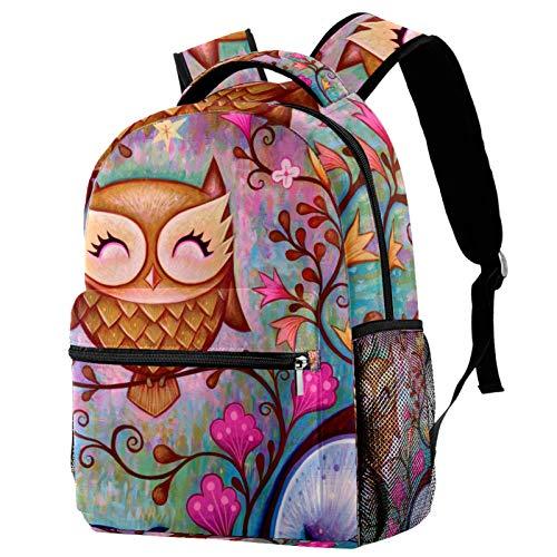 12' School Backpack, Unisex Classic Backpack for Men Women (11.5x8x16 in),Great Big Owl