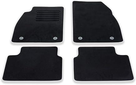 Opel Juego de alfombras Insignia (Terciopelo, 4 Piezas), Color Negro