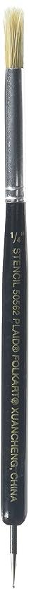 FolkArt 50562 ((1/4-Inch), Stencil Brush and Stylus