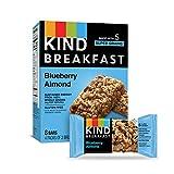 KIND Breakfast Bars, Blueberry Almond, Gluten Free, 1.8oz, 32 Count