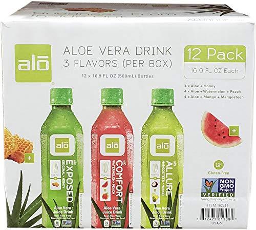 Alo Aloe Vera Drink 12 Piece Variety Pack