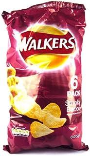 Walkers Smokey Bacon Crisps 6 Pack 150g