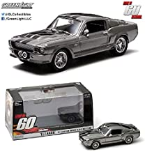 GreenLight Collectibles Gone in Sixty Seconds 1967 Ford Mustang Eleanor 1/43 Scale Diecast Model Car Gray