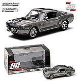 Greenlight Collectibles - 86411 - Véhicule Miniature - Modèle À L'échelle - Ford Mustang Shelby - GT 500 Custom - Eleanor - Echelle 1/43
