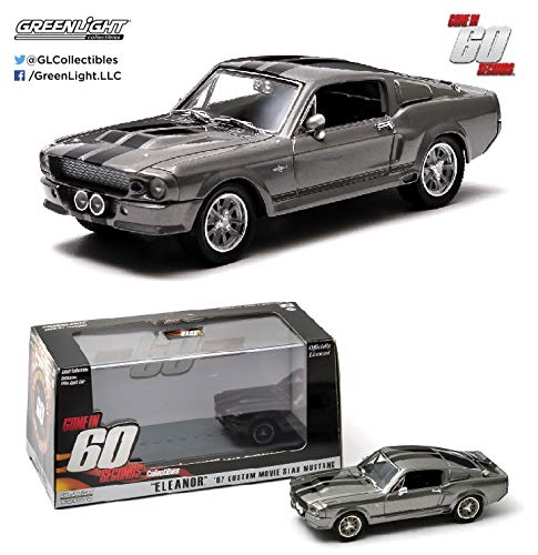 Ford Shelby GT500 schwarz  GL Muscle  Greenlight  Limited Edition  1:64  OVP NEU