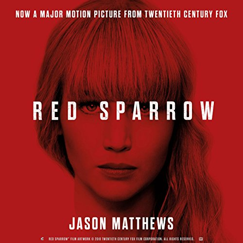 Red Sparrow audiobook cover art