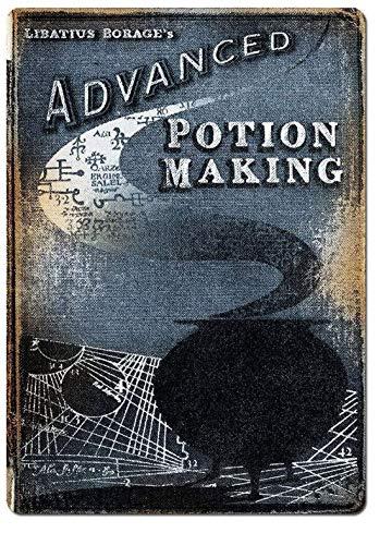 Advanced Potion Making Plaque décorative en étain pour maison, cuisine, salle de bain, ferme, jardin, garage, citations inspirantes 20 x 30 cm