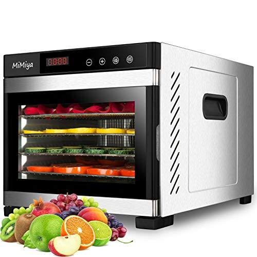MiMiya Déshydrateur Alimentaire, Machine électrique deshydrateur...