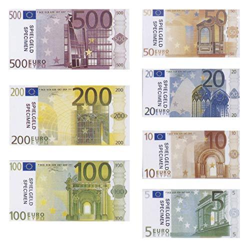 PhiLuMo Spielgeld Euro Münzen und Scheine