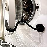 Spedtees Front Load Washing Machine Door Holder, Flexible Washer Door Prop Keep Washer Door Open to Keep Dry - Black