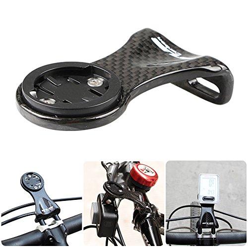 Shootingstar - Soporte de Fibra de Carbono Ultraligero para Cronómetro, para Bicicleta, Ciclismo, GPS y Cámara Deportiva