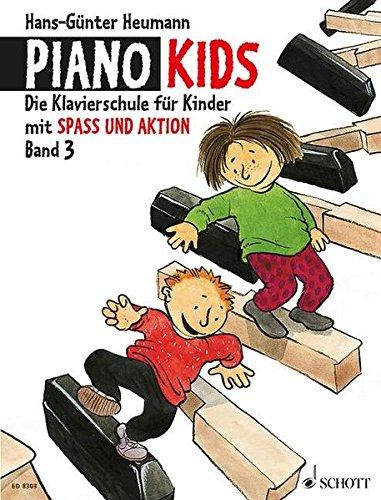 Piano Kids: Die Klavierschule für Kinder mit Spaß und Aktion - Komplett-Angebot. Band 3 + Aktionsbuch 3. Klavier.