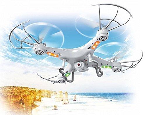 Top Race® Quadcopter con Cámara Ultra Estable Drone con 4 Acciones de Movimiento Cámara para Fotos y Videos con opción de Retorno TR-Q511