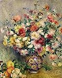 Kunstdruck/Poster: Pierre Auguste Renoir Dahlien -