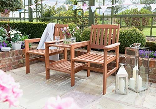 NEW Genuine-Jakarta Companion Wooden Garden Set