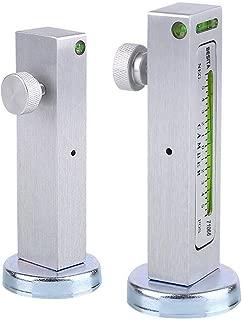 BESITA Adjustable Magnetic Gauge Tool Camber Alignment Tool Strut Wheel Alignment Tool for Truck Car RV Tire Repair