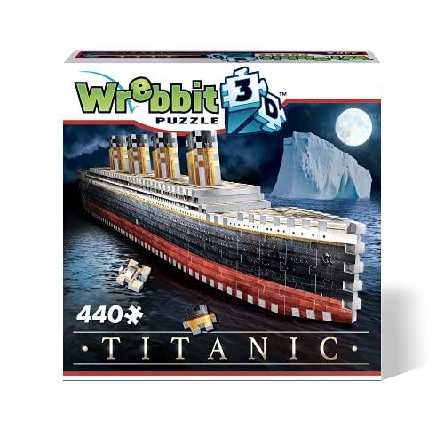 Wrebbit 3D W3D-1014 3D Puzzle, Mehrfarbig