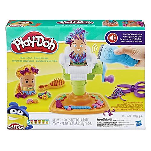 Conjunto Massinha Play-Doh Barbearia Divertida Hasbro