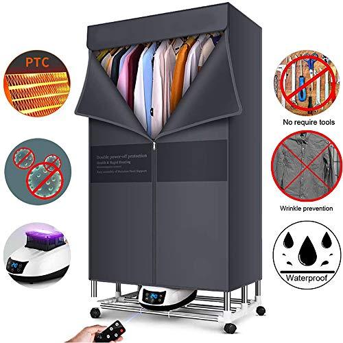 TQMB-A Secadora de Ropa Las secadoras de Ropa del hogar Secador de Secado rápido de la pequeña Secador Secador de Aire UV Plegable Armario Secadora