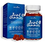 Glucosamine Sulphate - Glucosamine Sulphate, Turmeric, Manganese and Vitamin C- High Strength Glucosamine Sulphate with Vitamin C - 60 Gummies - Made in UK by Novomins