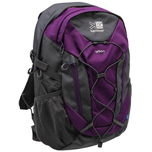 Karrimor Unisex Urban 30 Rucksack Mesh Drawstring Lt Purple/Charcoal One Size
