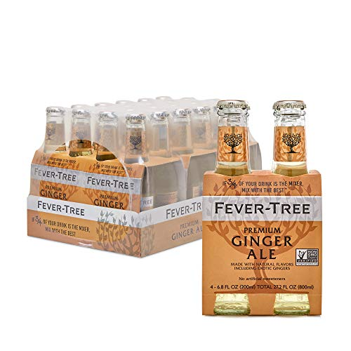 Fever-Tree Premium Ginger Ale, No Artificial Sweeteners,...