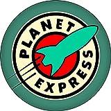 Planet Express - Futurama Spaceship Logo - 1.25' Round Button