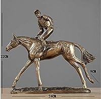JKHG 彫刻の花瓶 彫刻置物CollectibleTHROWER男性スポーツアスリート像ホームテーブル置物装飾工芸品