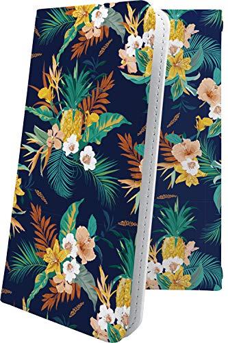 スマートフォンケース・ZenFone5Q ZC600KL・互換 ケース 手帳型 ハワイアン ハワイ 夏 海 花柄 花 フラワー ゼンフォン5q ゼンフォン5 手帳型スマートフォンケース・和柄 和風 日本 japan 和 zenfone 5q 5 q 女の子 女子 女性 レディース [L7429331K19]