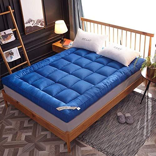 J-Kissen Thick Tatami Boden Futon-Matratze Matte, Kissen Futon-Matratze Topper, Breathable Roll Up Matratzenauflage Schlafenauflage for Schlaf (Color : B, Size : 120x200cm(47x79inch))
