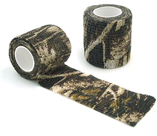 NAMVO Selbstklebendes Non-Woven Camouflage Wrap Gewehr Pistole Jagd Camo Stealth Tape 4.5M - Anti-Gesundheit Tarnung