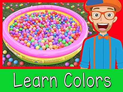 Ball Pit with Blippi - Colorful Videos for Kids